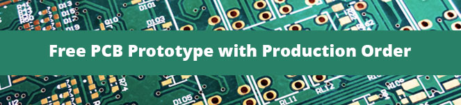 Free PCB Prototype with Production Order