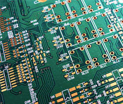 Picture of printed circuit board